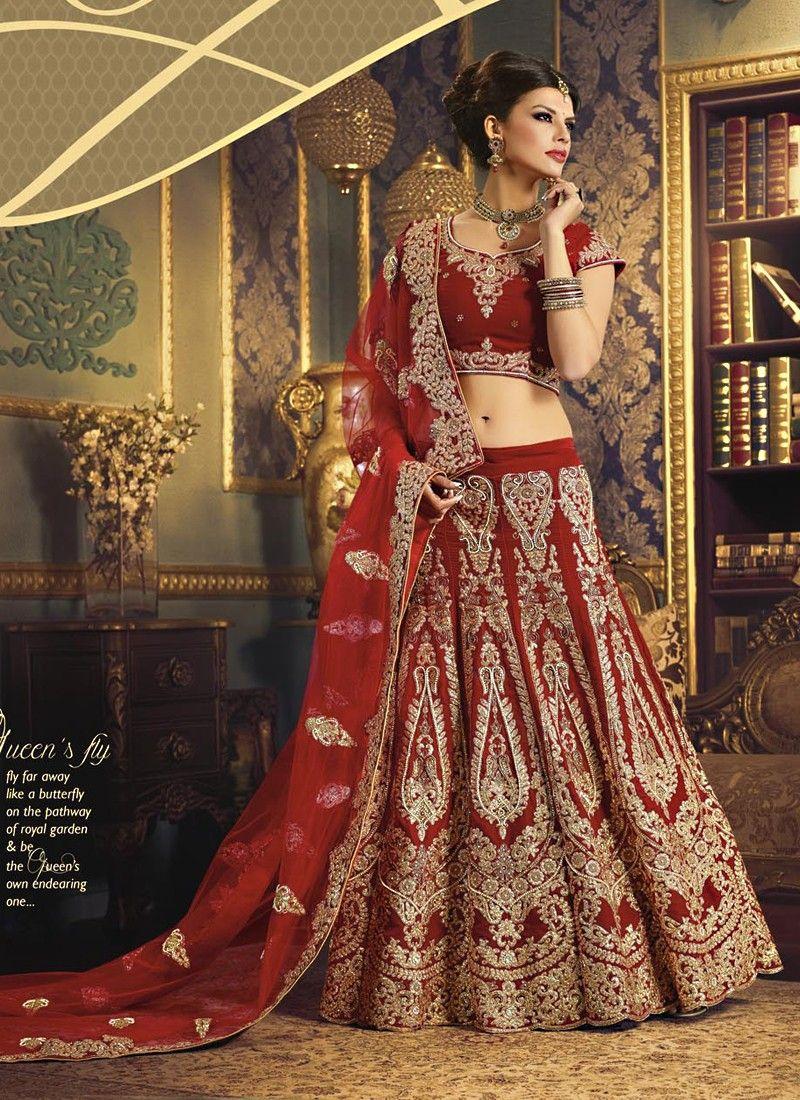 Designer Maroon A-Line Party Wear Lehenga Choli PRODUCT CODE:- 6137 ...