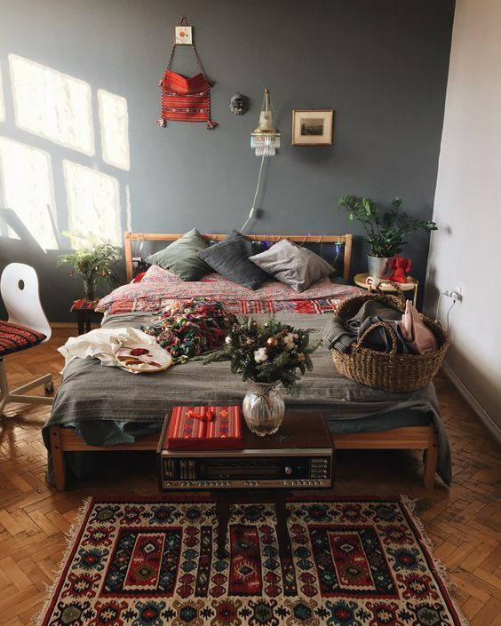 awesome bohemian master bedroom design ideas also best images in rh pinterest