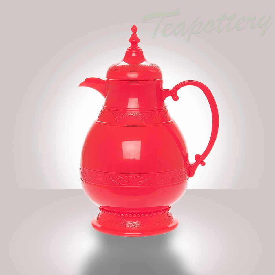 Roze thermoskan fatima. 1 liter