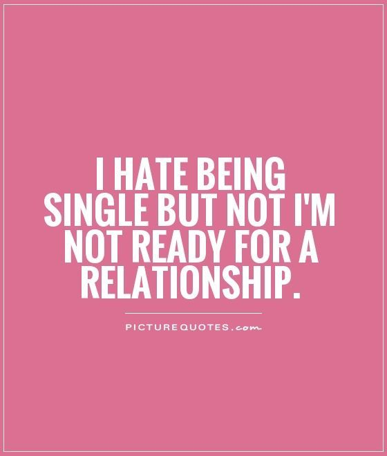 single but in a relationship