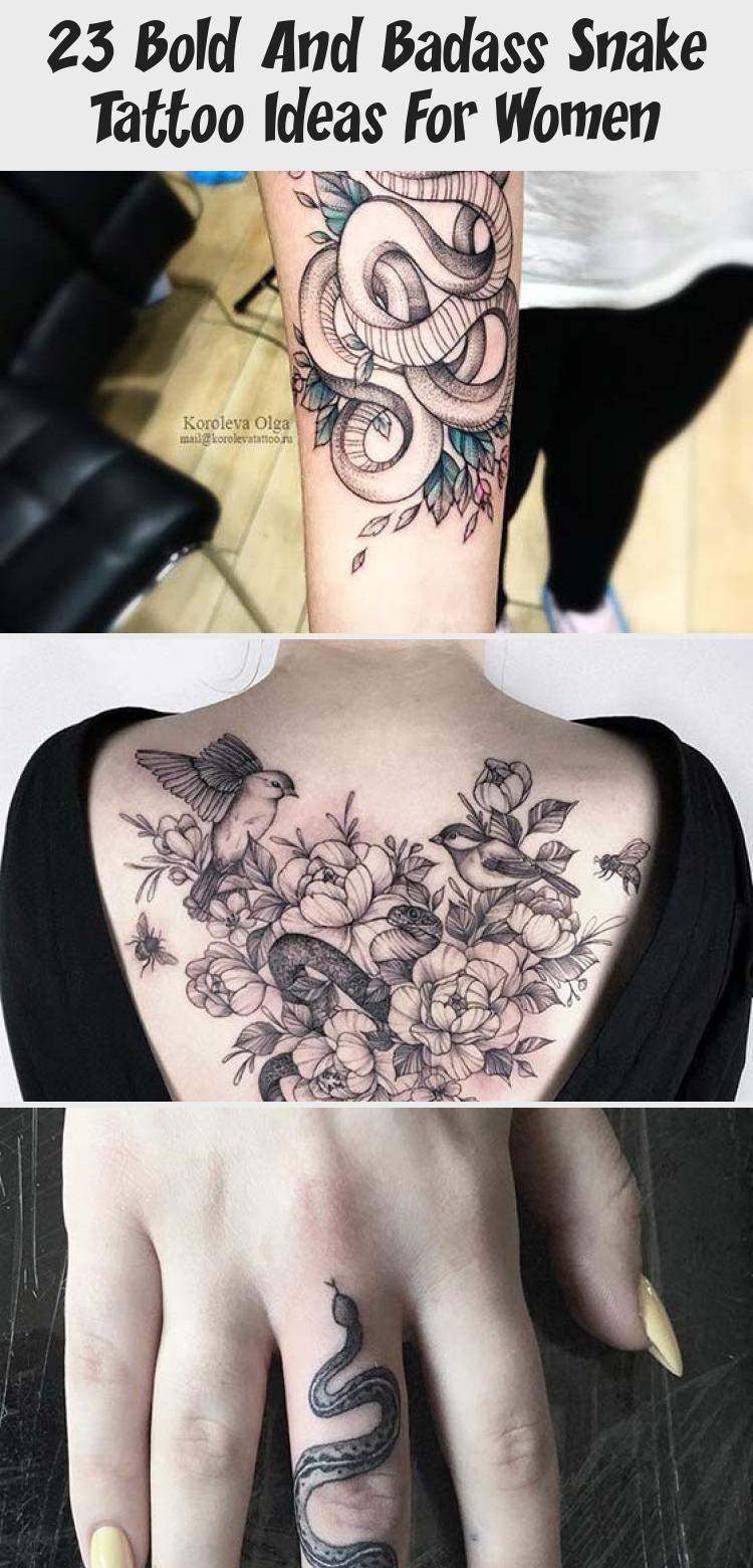 Photo of 23 idées de tatouage de serpent audacieux et badass pour les femmes – Tatouages