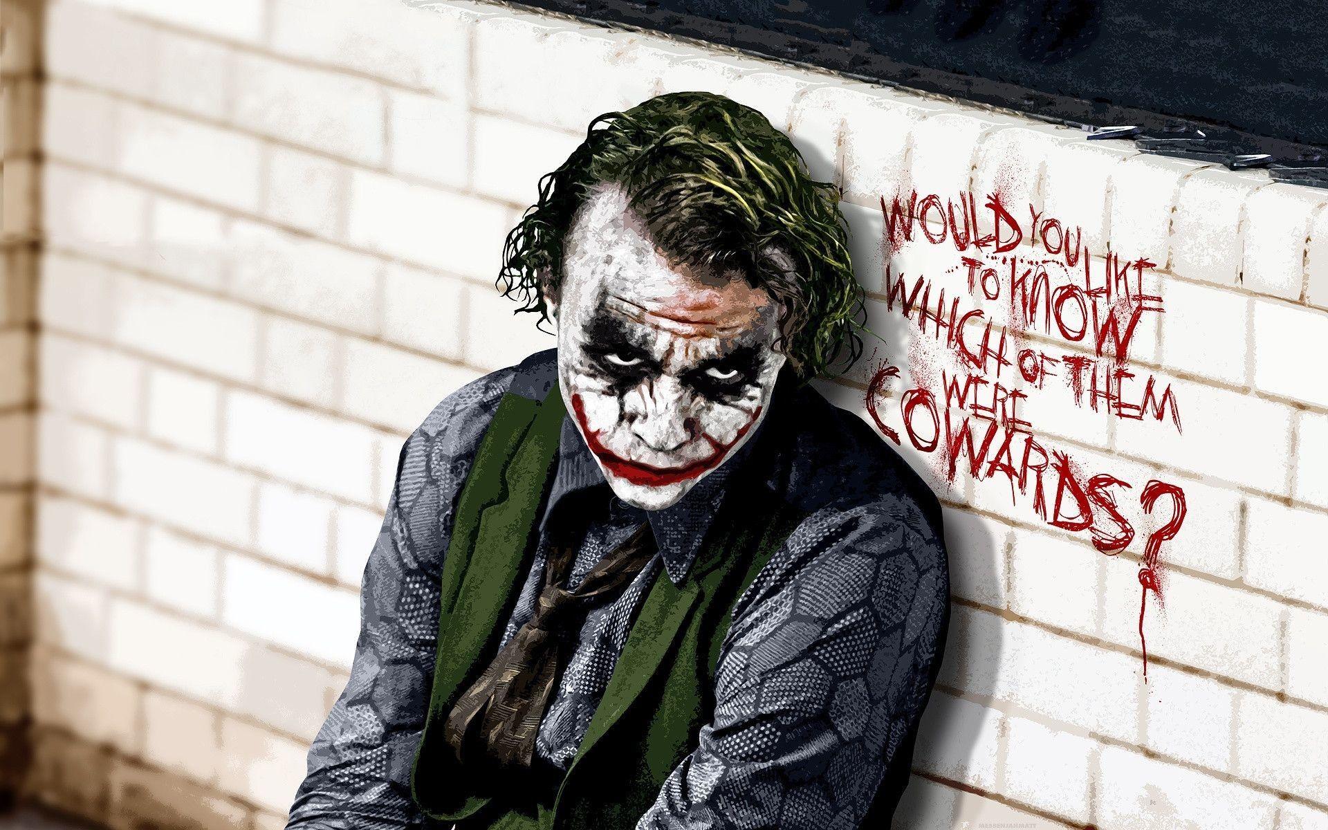 Artiste Non Connu Joker Hd Wallpaper Dark Knight Wallpaper Batman Joker Wallpaper