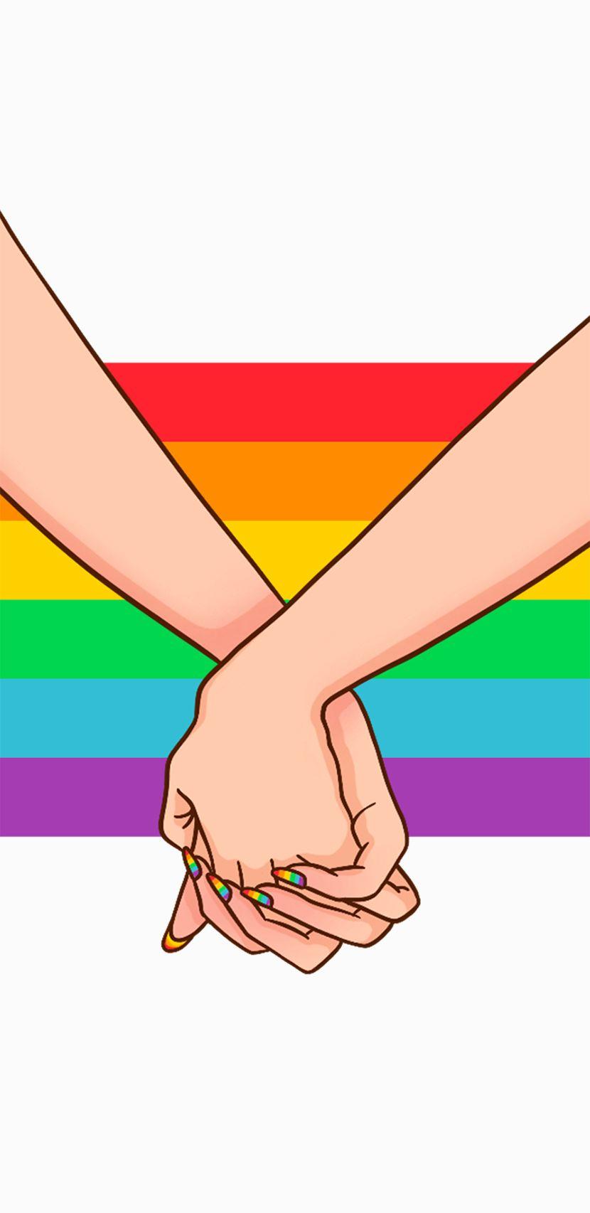 Pin En Gocase Loves Pride Aesthetic pride month rainbow wallpaper