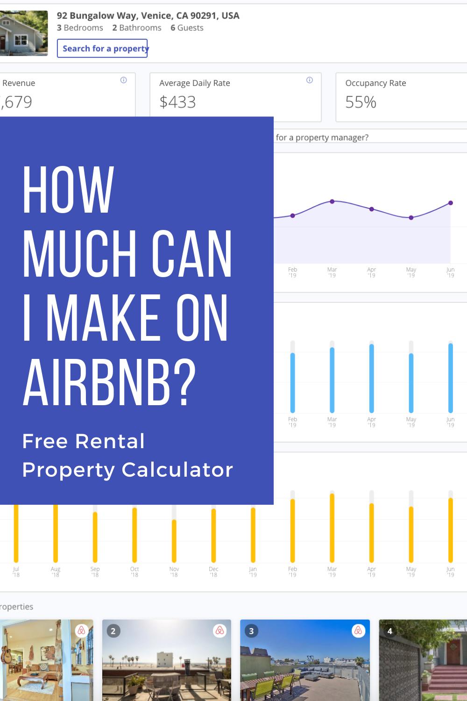 Free Rental Property Calculator Airbnb Airbnb Rentals Rental Property