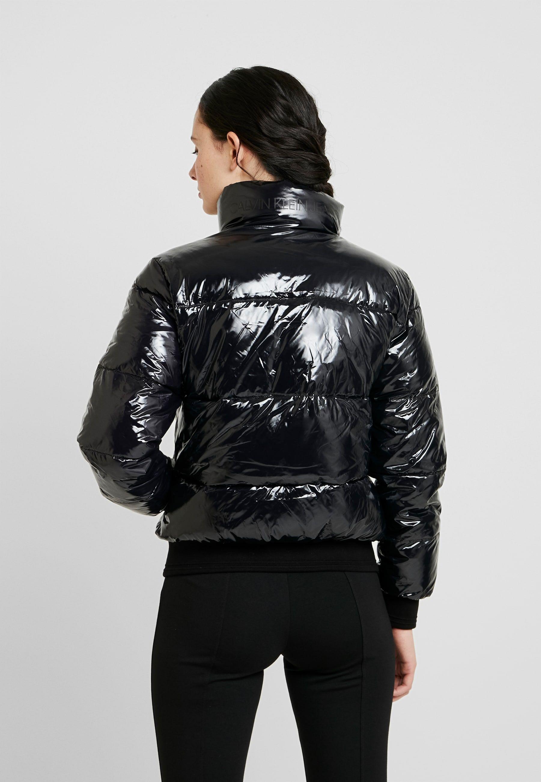 SHINY PUFFER JACKET Winter jacket black Zalando.de