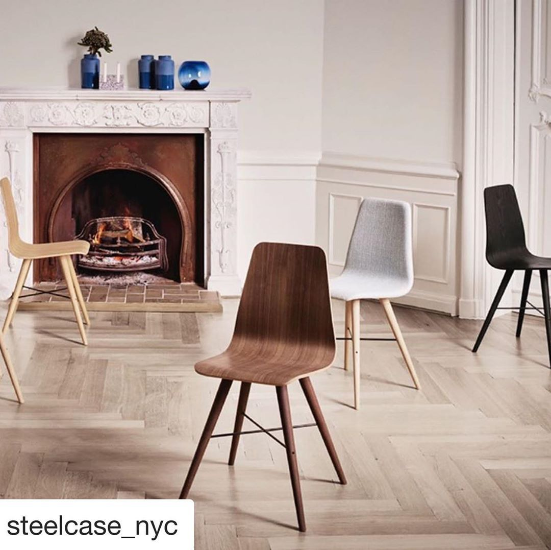 Beaver from is a modern wooden diningroom chair