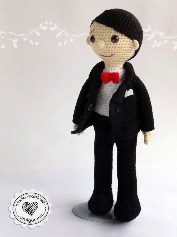 Novios Crochet Patron Gratis Maria Martinez Amigurumi | muñequitos ...