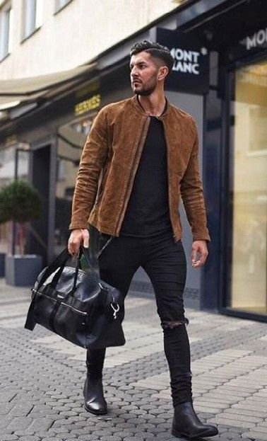 23 Jeans jacket outfits you'll love! #MensFashionWinter