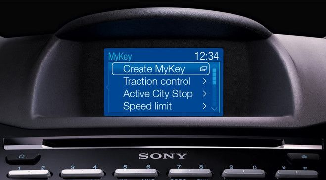 Ford My Key >> Ford Mykey The New Ford Fiesta Is The First Car In The Uk