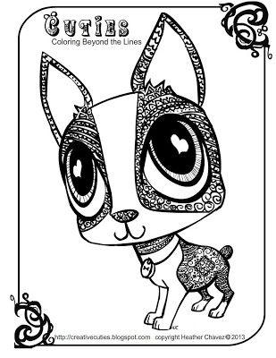dog cutie coloring page mit bildern | malvorlagen, malvorlagen tiere, malbuch vorlagen