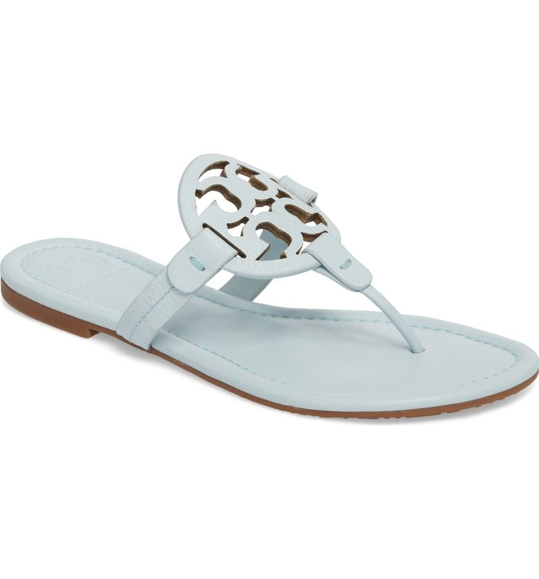 53835e7f02e544 Free shipping and returns on Tory Burch  Miller  Flip Flop (Women ...