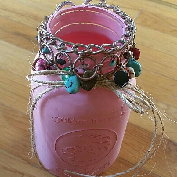 Stone Braclet Beautiful toggle with stones Jewelry Bracelets