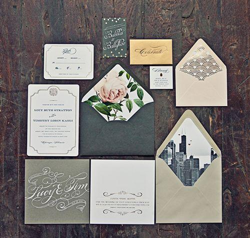 Chicago Themed Wedding Ideas
