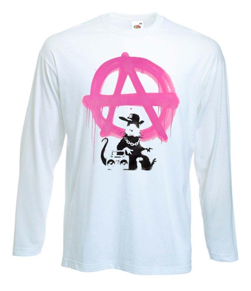 Mens T-Shirt Anarchism Anarchist Anarchy Symbol