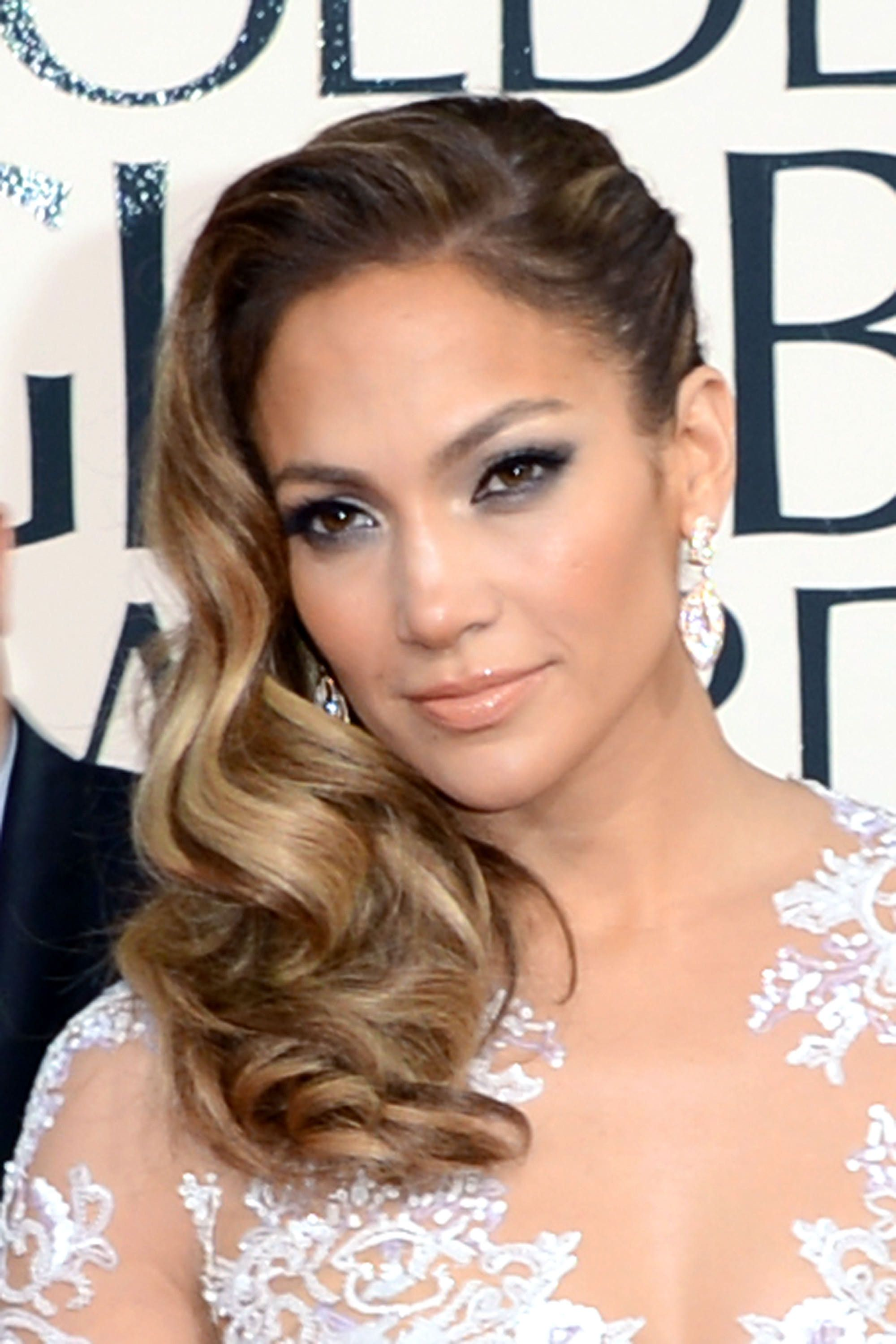 The golden globe looks youull want to copy this year hair