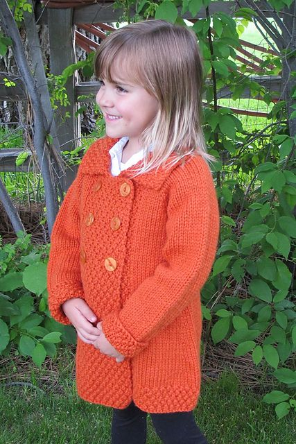 1304 Girls Double Breasted Coat Pattern By Diane Soucy