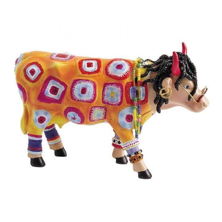 Cow Parade kunstkoe Miss #Hippie | Cow parade, Cow, Parades