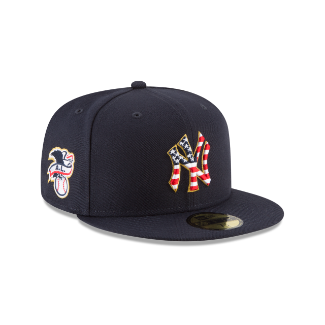 b10d7852f NEW YORK YANKEES 4TH OF JULY 59FIFTY FITTED 3 quarter right view ...