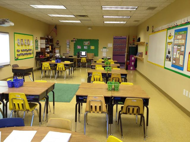 Yellow Classroom Decor : Classroom decorating ideas with a yellow and green theme