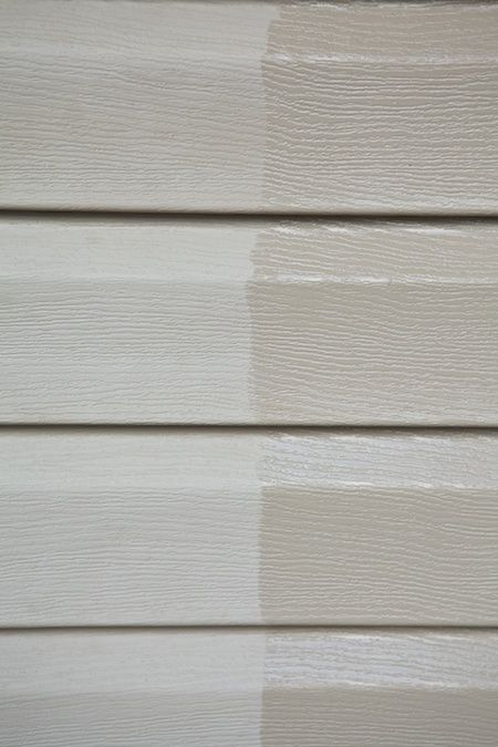 Restoring Vinyl Siding With Organic Boiled Linseed Oil