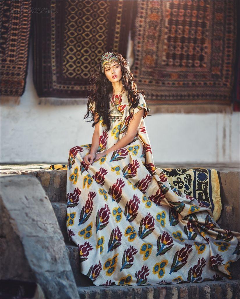 Khiva - девушка Узбекистан Хива