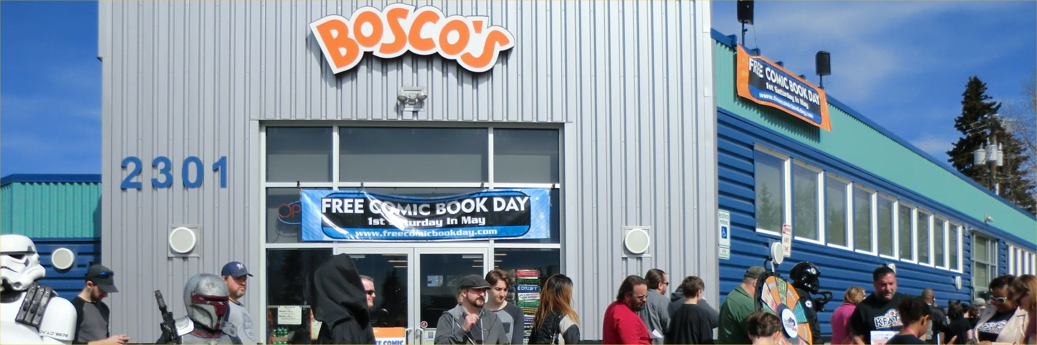 Bosco's to BOSCO'S, a kaleidoscope of pop culture