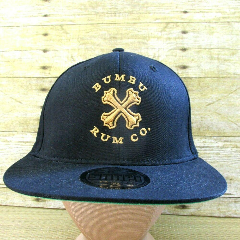 Bumbu Rum Co Cap Black Gold Logo Flatbill Snapback Hat Headshots By Kc Caps New Kccaps Flatbill Casual Black And Gold Logo Camo Trucker Hat Hats Vintage