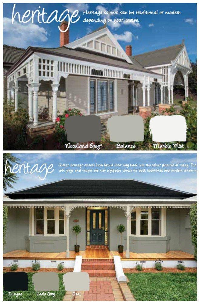Grey House Paint Colours Exterior Gray