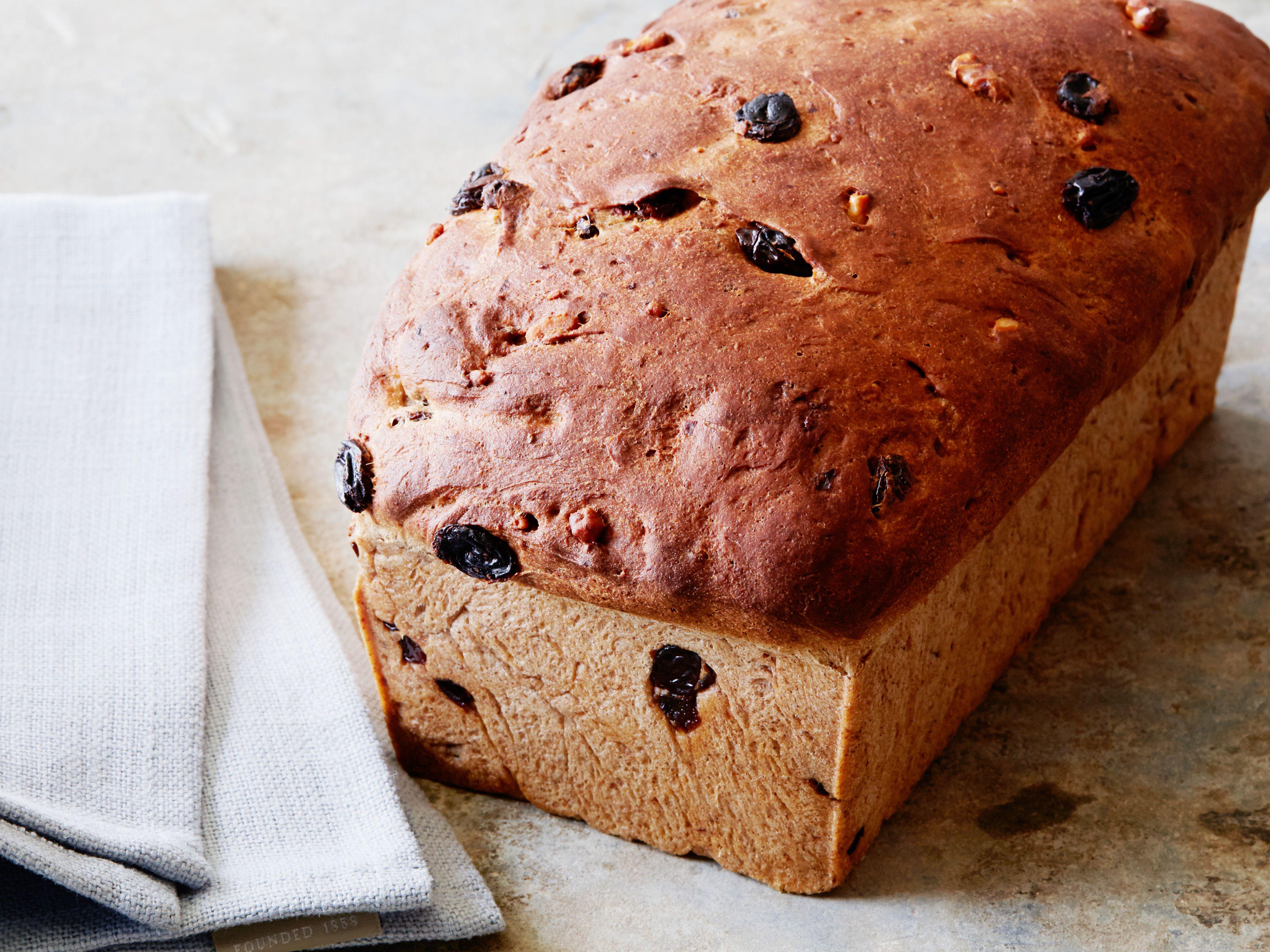 Homemade cinnamon raisin bread recipe cinnamon raisin bread homemade cinnamon raisin bread forumfinder Images