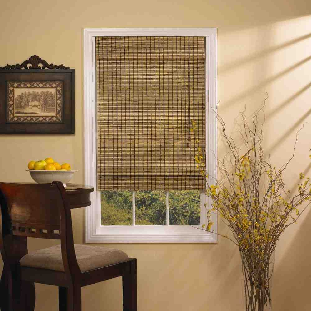 Bamboo Blinds Lowes Living Room Blinds Roller Blinds Living