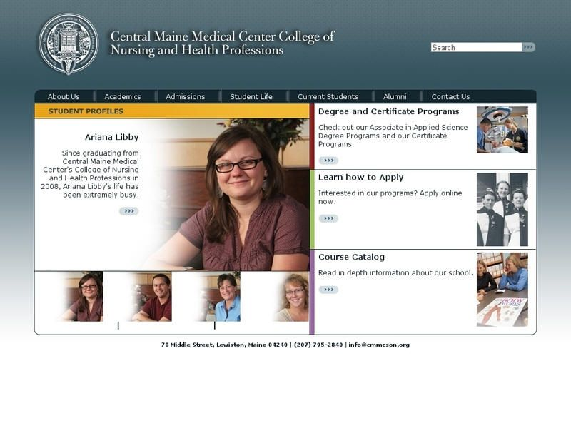 Central maine medical center college of nursing and health