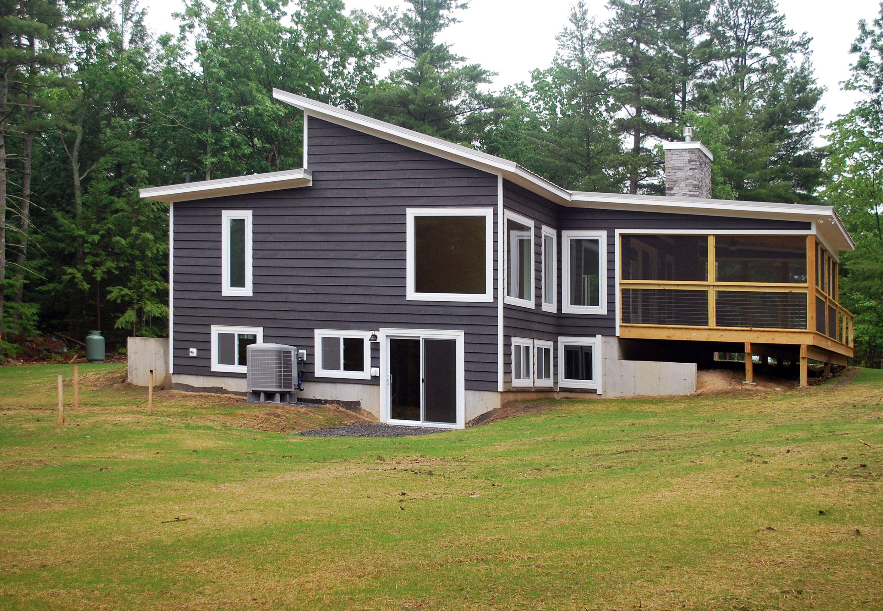 Slate Gray, Semi-Solid Stain #siding #Catskillfarms   Our ...