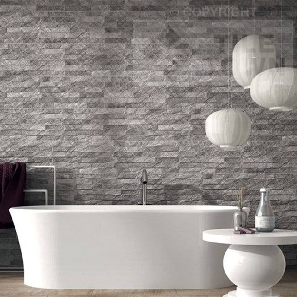 High peak gris wall is a truly innovative range of tiles that uses grey slate tiles for bathroom bathroom tiles will be the most detailed part of your bathroom layout bathroom tiles tend to dailygadgetfo Images