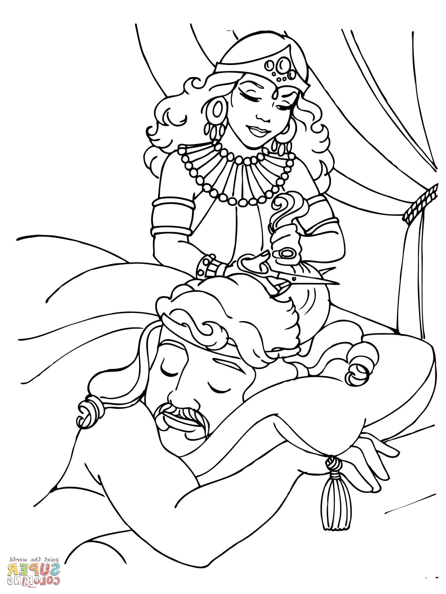 Samson Coloring Pages | Lion coloring pages, Coloring ...