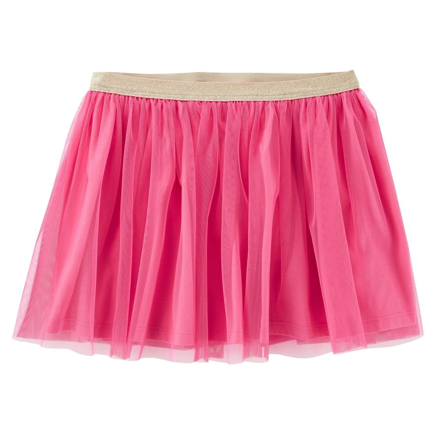 12 Months OshKosh BGosh Baby Girls Floral Tulle Skirt