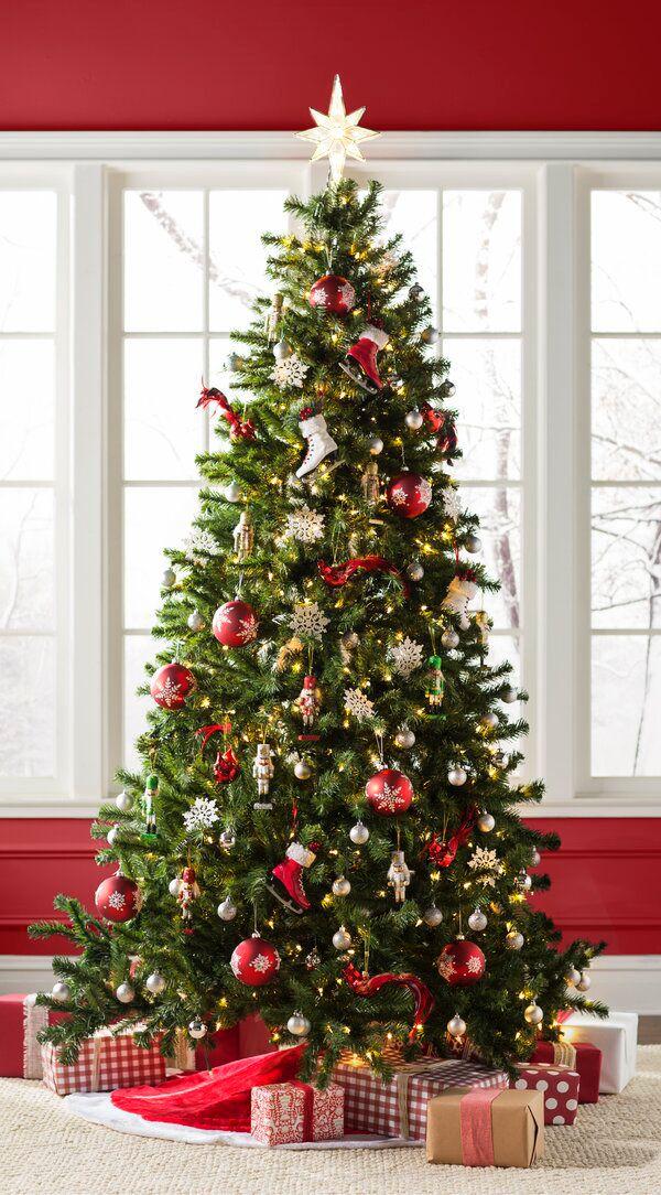 Norwood Fir Green Spruce Artificial Christmas Tree