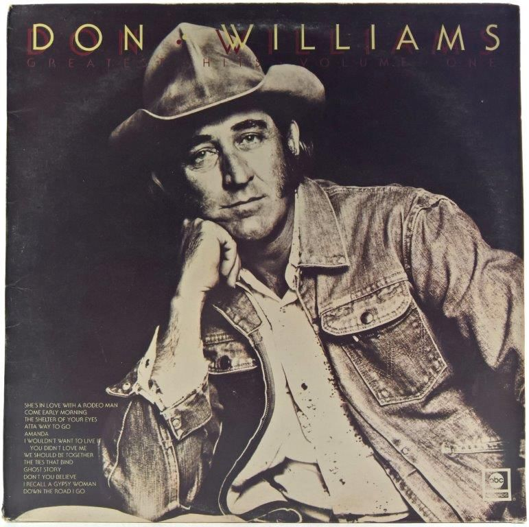 Don Williams - Greatest Hits Volume One W 2020