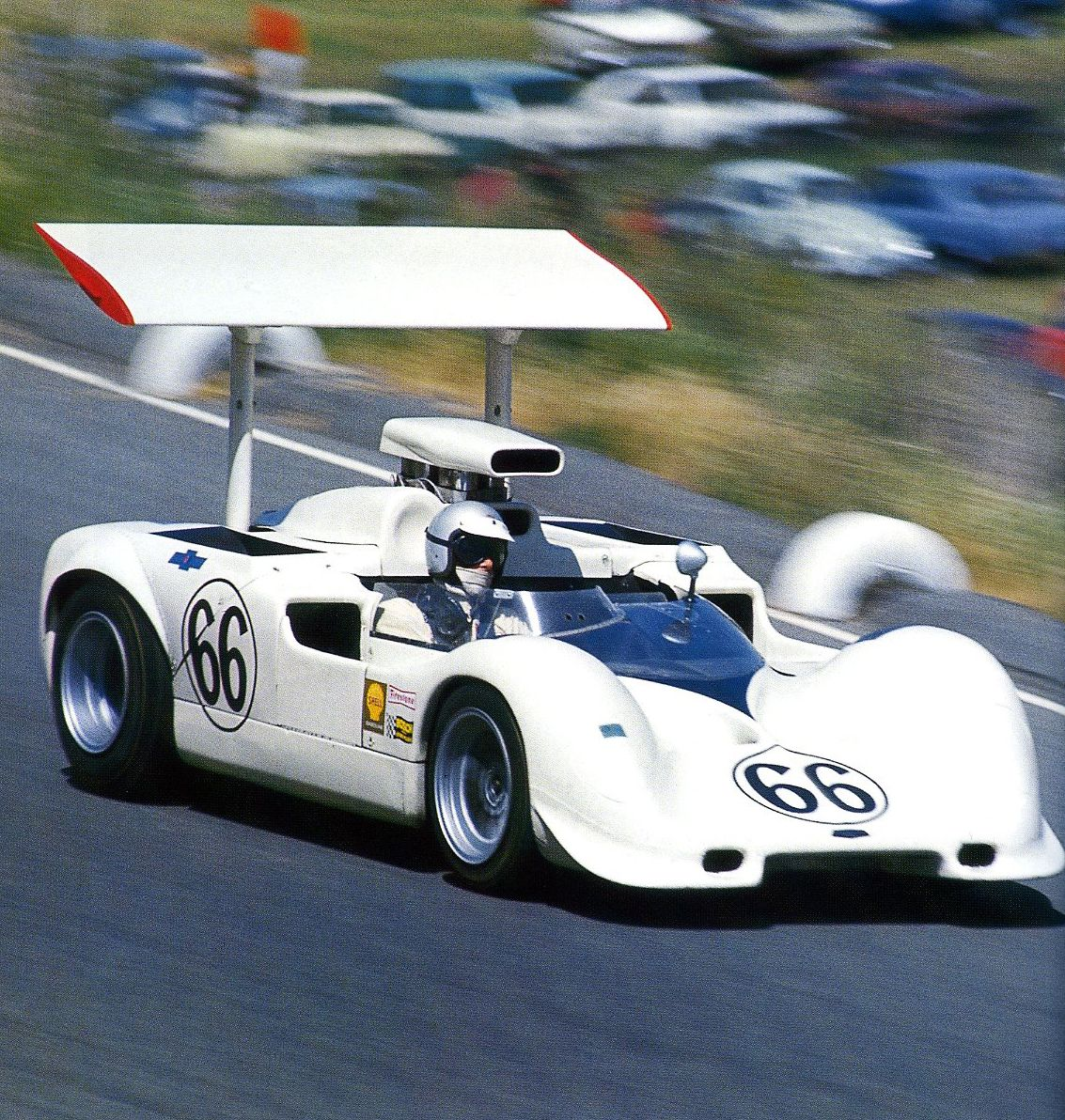 CAN AM RACING STARTED IN THE 1960'S AND FOUND ITS DEMISE