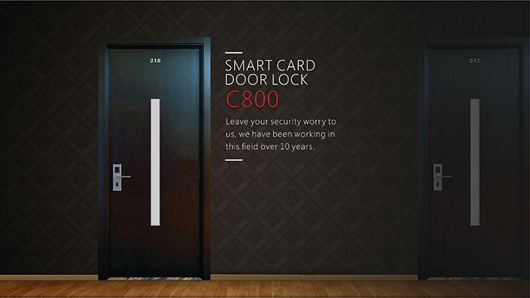 Aluminum Door Lock C800 Smart Door Locks Keyless Door Lock Door Locks