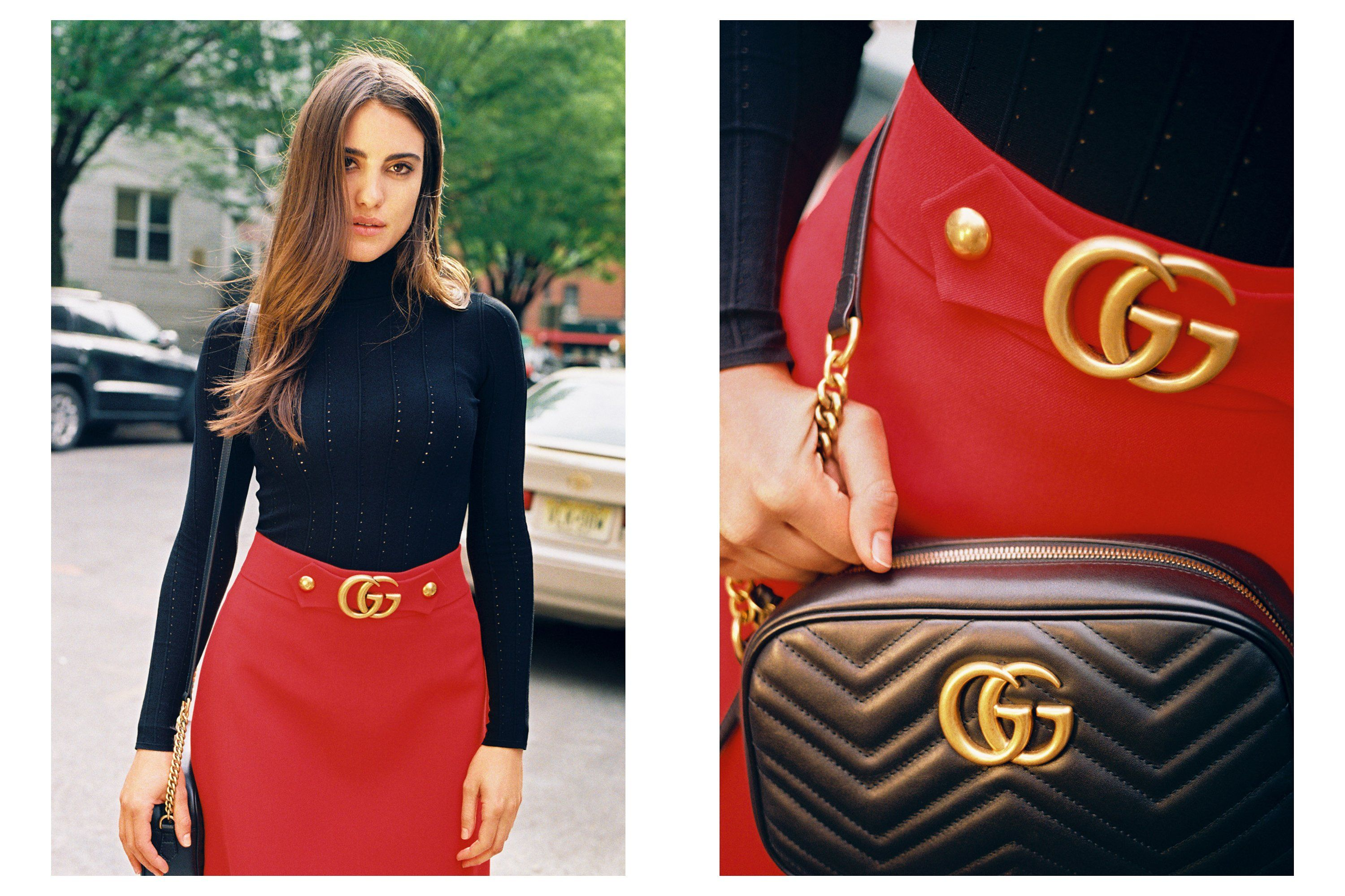 6a61b92e1852a6 Street Style  100 Ways to Wear Gucci