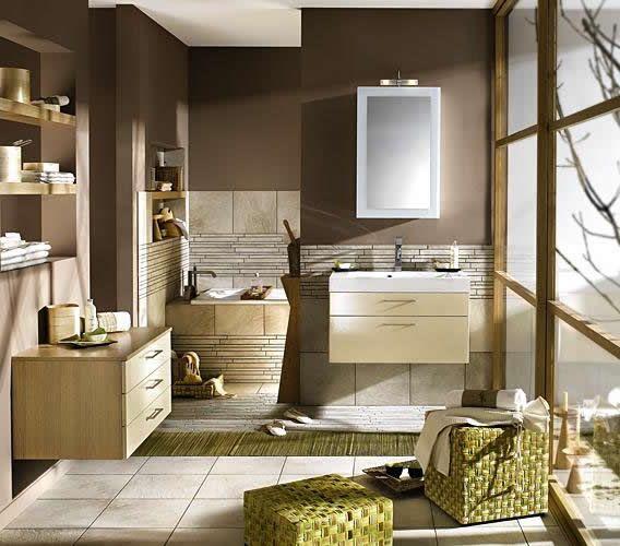 colored walls, niches Bathroom Pinterest Badezimmer - dekoration für badezimmer