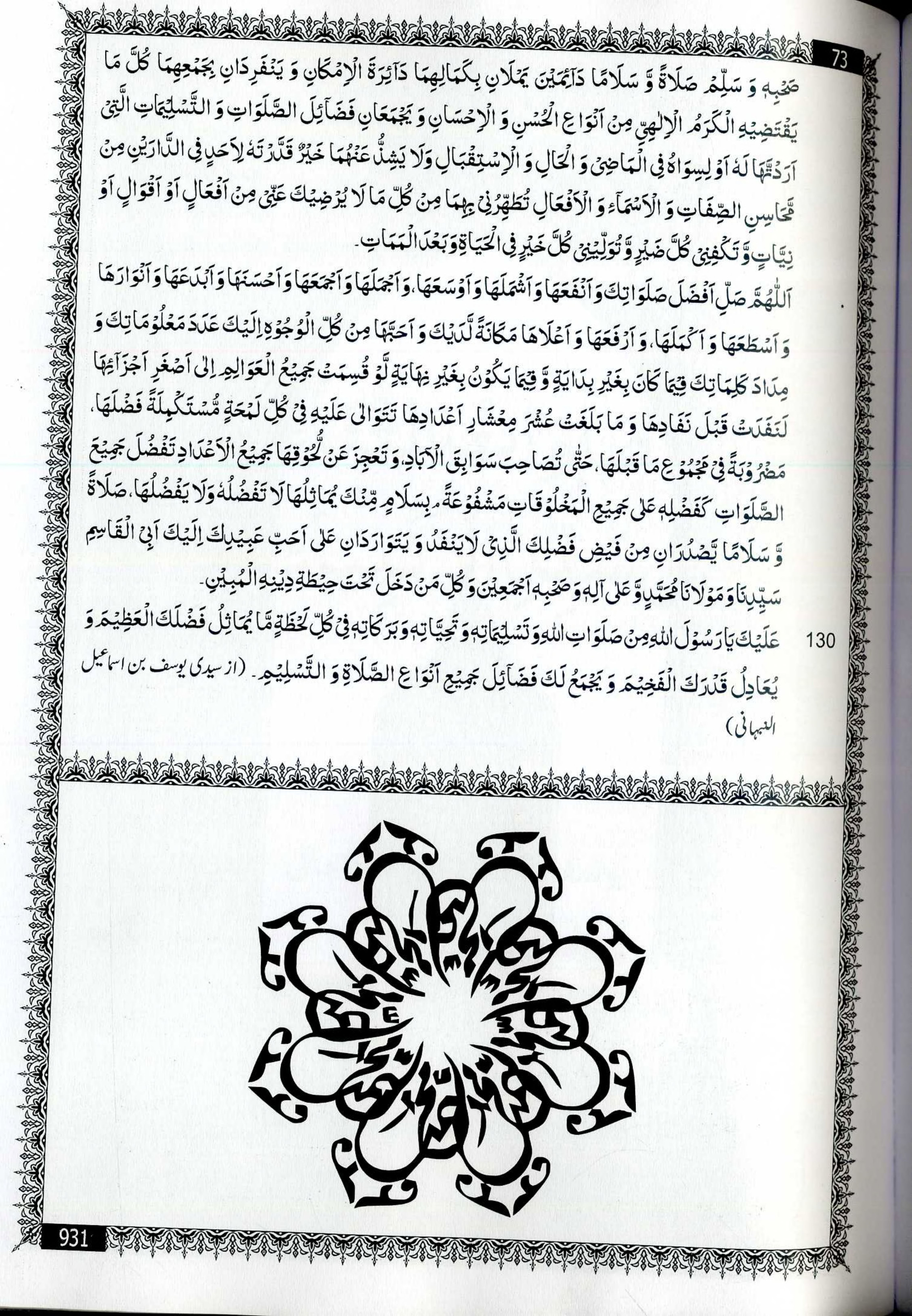 اللهم صلي على سيدنا محمد الفاتح لما اغلق