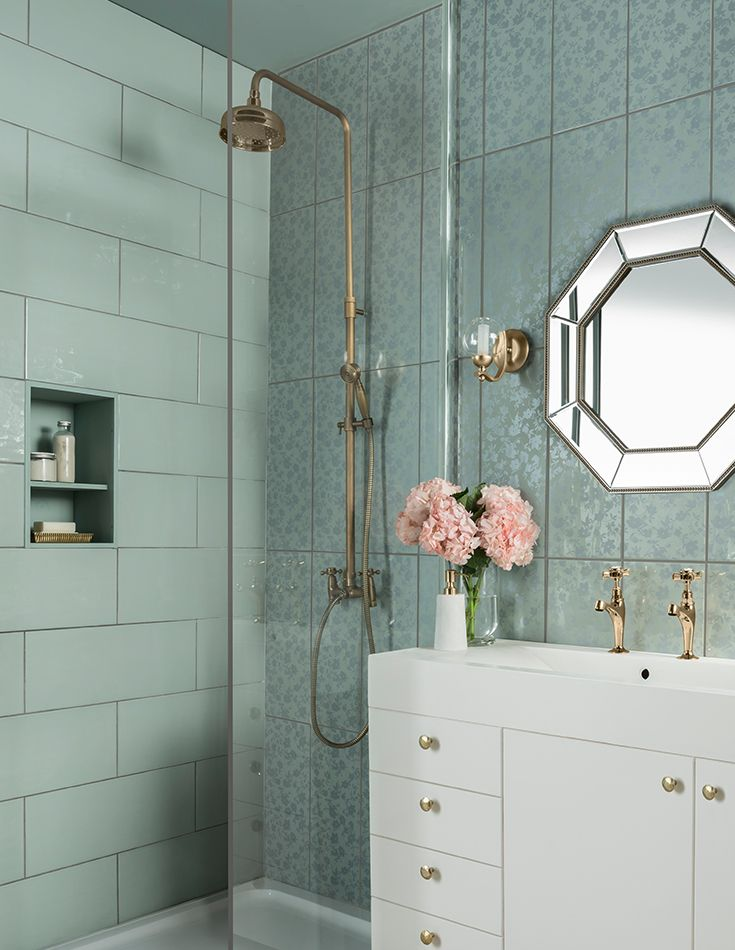 A fresh take on the classic floral print, Wild Blossom is a white body ceramic tile with a subtle ripple finish. Available in four colours, Milk, Rose, Seagrass and Sky; with a coordinating floral decor tile.
