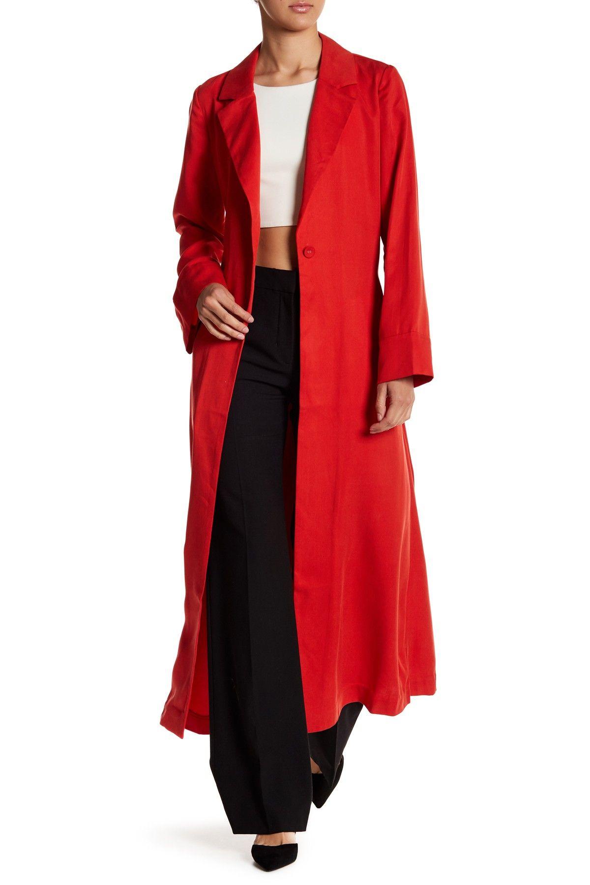 Long Sleeve Duster Coat