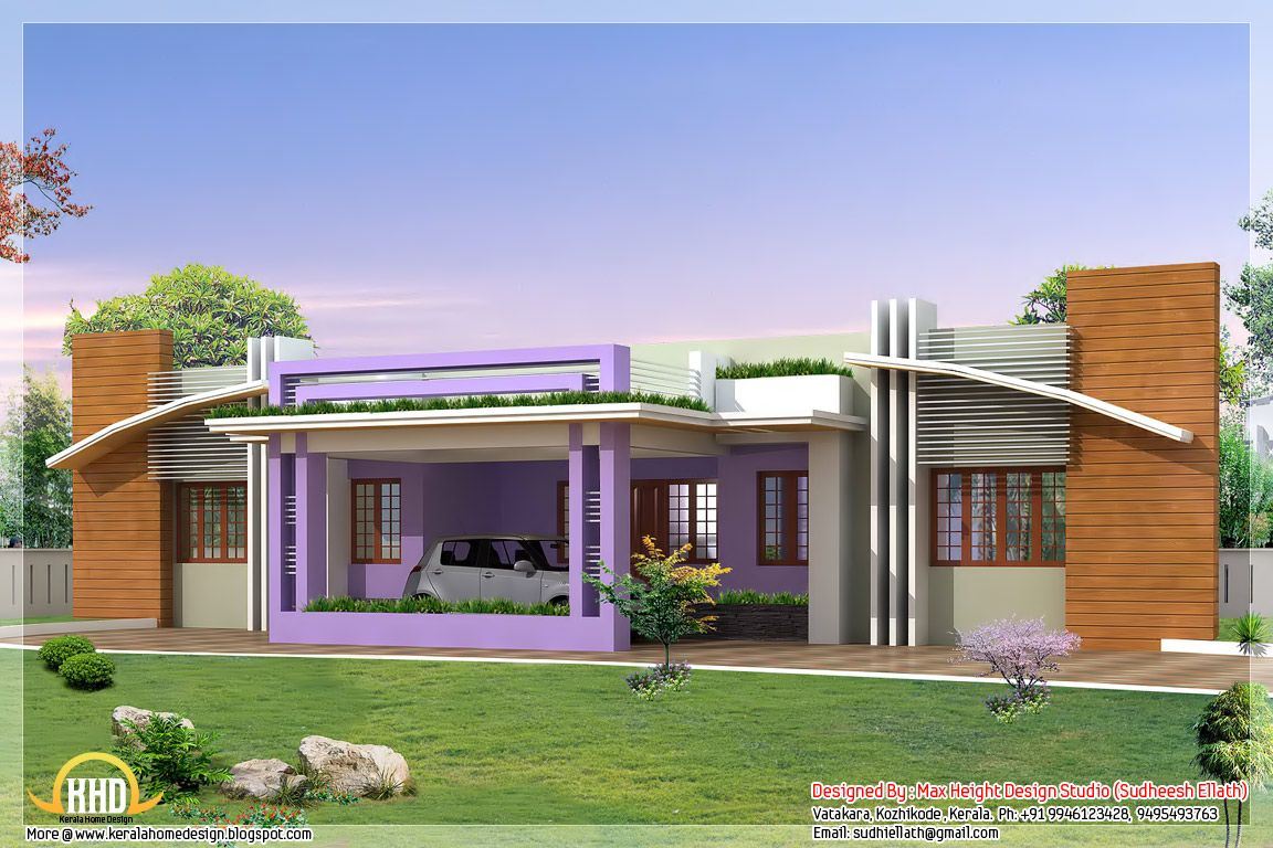 Four India Style House Designs In 2019 Kerala House Design