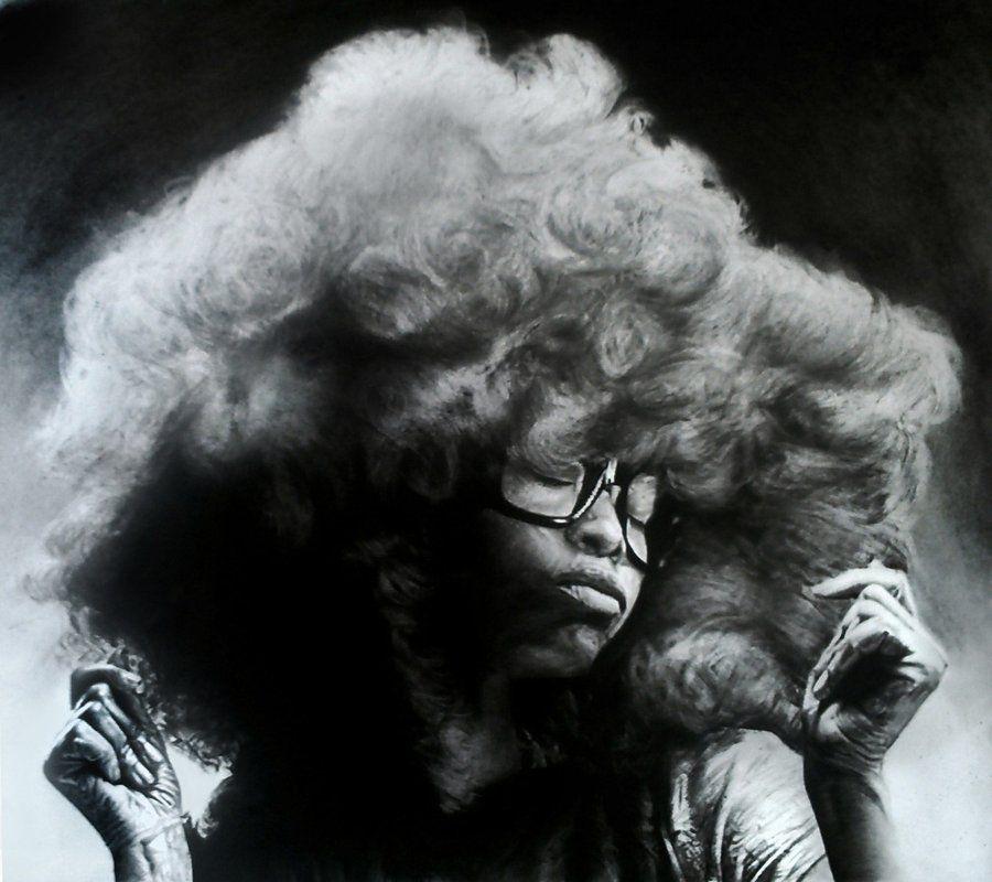Erykah Badu by ~TheCharlieBrowniest on deviantART