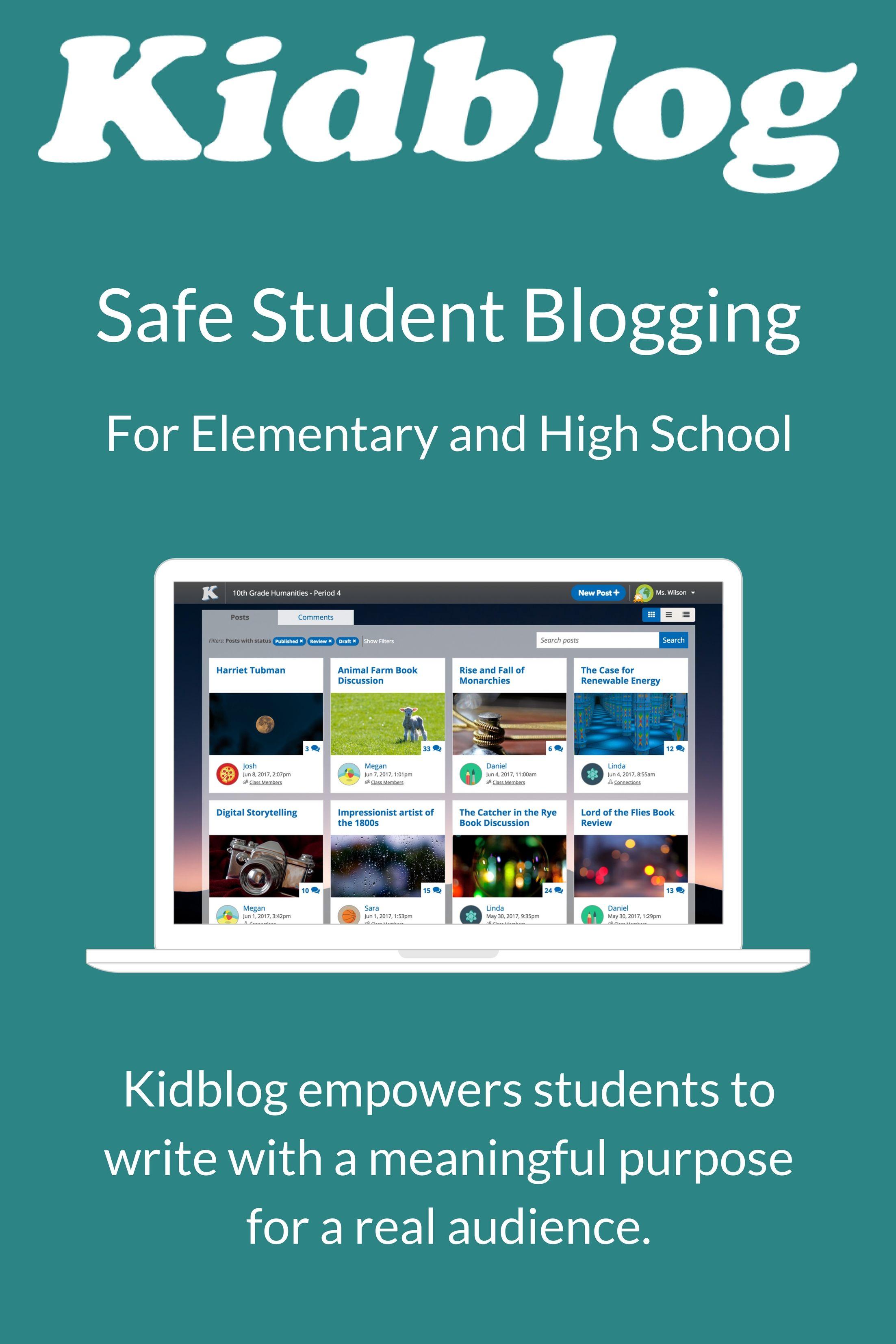 Safe Student Blogging
