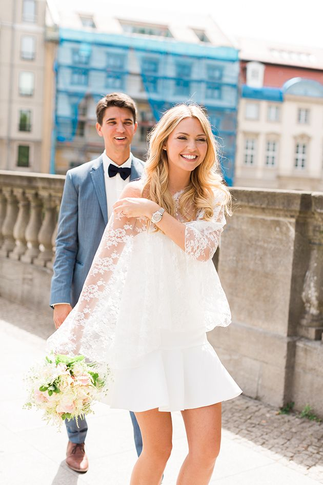 Is This The Most Chic Civil Wedding Ever Civil Ceremony Wedding Dress Civil Wedding Dresses Courthouse Wedding Dress