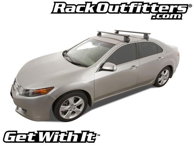 Honda Accord Rhino Rack 2500 Aero Black Base Roof Rack 13 16 Roof Rack Honda Accord Subaru Wrx