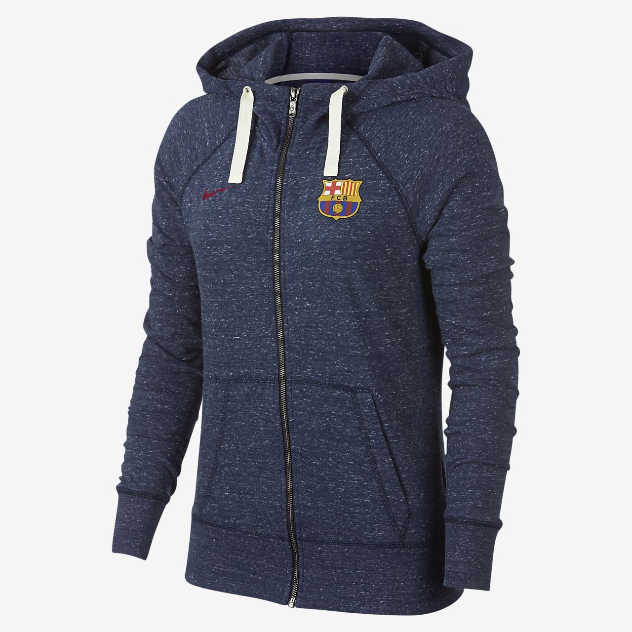 3d2326418e Nike Fc Barcelona Gym Vintage Women s Full-Zip Hoodie - Xl (16–18) Red